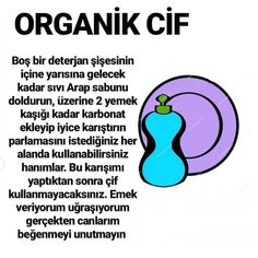 ORGANİK CİF - OrdanBurdanŞurdan - OrdanBurdanŞurdan You are in the right place about beauty tips Her Hacks Diy, Cleaning Hacks, 1000 Lifehacks, Creative Activities For Kids, People In Need, Toilet Cleaning, Green Cleaning, Good To Know, Karma