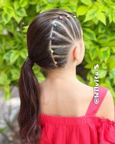 Trendy Hairstyles For Kids People Lulu Hairstyles, Girls Natural Hairstyles, Baby Girl Hairstyles, Trendy Hairstyles, Braided Hairstyles, Girl Hair Dos, Gymnastics Hair, Toddler Hair, Hair Cuts