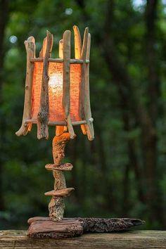 #流木の照明-2 #流木 #流木アート #屋久島 #インテリア #Driftwood art
