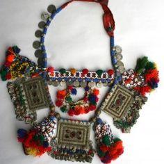 Afghan neck piece.