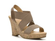 CL by Laundry Ivorin Wedge Sandal | DSW