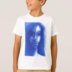 #In Blue T-Shirt - #cool #kids #shirts #child #children #toddler #toddlers #kidsfashion