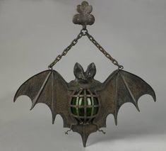 Antique Bat Lamp, circa 1930.