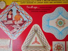 Vintage 1969 Kenner SUPER SPIROGRAPH No. 2400 Missing 1 Small Pastic Piece #SuperSpirograph