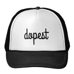 7f92d2fa9b1 Zazzle Dopest Hat (black)  zazzle  dopest  coolest  hats Cool Hats
