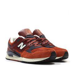 New Balance W530 AAE 90s Running: Redwood