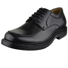 Mens Dress Shoes Front Tonal Stitch Lace Up Oxford Black SZ 7 ($28) ❤ liked on Polyvore featuring men's fashion, men's shoes, men's dress shoes, black, mens oxford dress shoes, mens shoes, mens lace up shoes, mens black dress shoes and mens lace up dress shoes