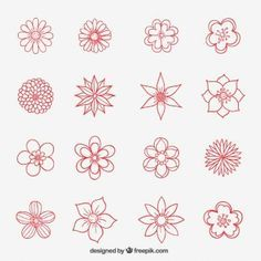 Floral wreath vector background