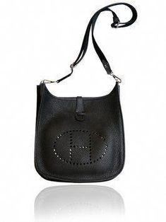 6c7abfd1bcf2 Hermes Evelyn 29cm Iii Pm Black Cross Body Bag. Get the trendiest Cross  Body Bag