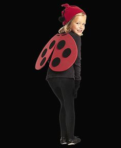 A costume that's cute as a bug and ready in a flash.