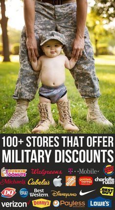 Stores & Restaurants That Offer Military Discounts 100 Stores & Restaurants That Offer Military Stores & Restaurants That Offer Military Discounts Military Girlfriend, Military Mom, Army Mom, Military Veterans, Military Wife Quotes, Army Boyfriend, Military Crafts, Military Party, Boyfriend Ideas
