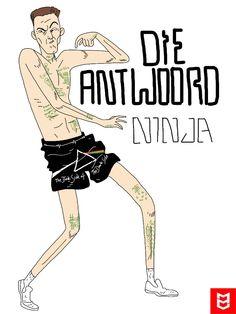 Ninja - Die Antwoord by DarthNeo on DeviantArt