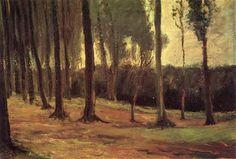 Edge of a Wood 1882 Vincent van Gogh