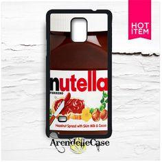 Nutella Bottle Samsung Galaxy Note 4 Case