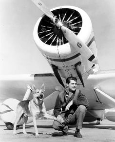 Cary Grant and friend, 1930's.