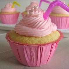 Pink Lemonade Cupcakes @Jennifer Milsaps L Milsaps L Higgins
