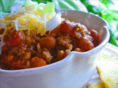 Copycat Wendy's Chili. Make this all the time. The only thing we change is to use 3 cans of pinto beans and one can of kidney beans.