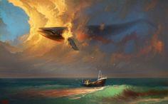 "A Long Journey – Imaginative Illustrations by Artem ""Rhads"" Cheboha"