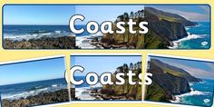 Head your coasts display with this lovely themed banner! Features our own illustrations to help brighten up your classroom, and clearly define the theme of your topic board. The banner prints over 3 sheets which you can piece together. Display Banners, Photo Displays, Seaside, Coast, Beach, Outdoor, Outdoors, The Great Outdoors