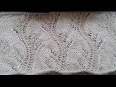 Yılan Güle Dolandı Modeli Anlatımı - YouTube Crotchet Patterns, Lace Patterns, Baby Knitting Patterns, Knitting Designs, Knitting Projects, Stitch Patterns, Knitting Stiches, Knitting Videos, Knitting Charts