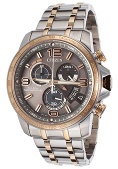 All price range available for the Citizen Men's Chrono Time A-T Two-Tone Stainless Steel Grey Dial - Watch BY0106-55H. For Sale on Sale ! Buy Now & Save You Pick The Savings Citizen BY0106-55H The best deal of this product!