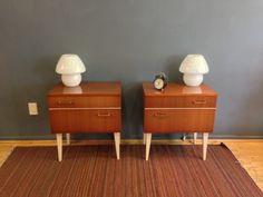 decada muebles vintage, buros de noche, night-tables www.decada.com.mx