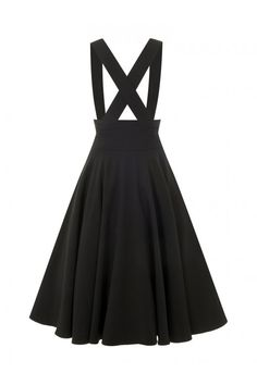 Collectif Vintage Mary Plain Swing Skirt - Collectif Vintage from Collectif UK