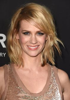 January Jones arrives at the amfAR LA Inspiration Gala Honoring Tom Ford Hosted By Gwyneth Paltrow at Milk Studios on October 29 2014 in Hollywood...