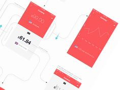UX Flow - Currency section iPhone app