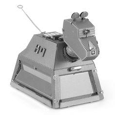 K-9 Robot Dog from Doctor Who 3D Metal Model Kit