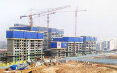 부영아파트 건설현장 전경