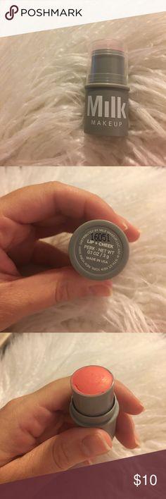 "Milk Makeup Lip + Cheek ""Perk"" Brand new! Sample size. Sephora Makeup Blush"