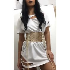 Faux Snakeskin corset belt Laces are suede cord This belt is custom made to your waist size. Please Measure smallest part of your waist.