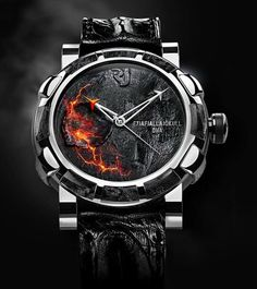 Romain Jerome Eyjafjallajokull Volcano DNA Watch