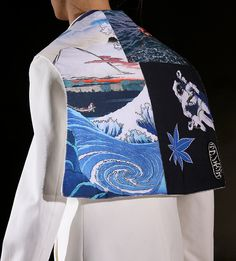 This is kind of nice. I can see doing a lot and being very creative with this concept Raf Simons S/S 2015.