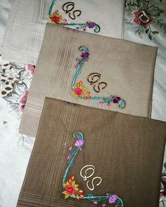 Handkerchief bersulam