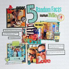 5 Random Issues about me - Scrapbook.com