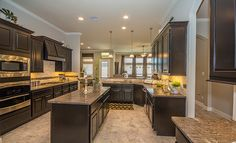 """Kitchen, NEXT GEN """"The Home within a Home"""" in Eagle Springs: Hawthorne Ridge - Texas Reserve Collection"""