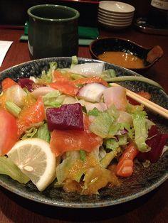 Sashimi salad, Sushi Tei