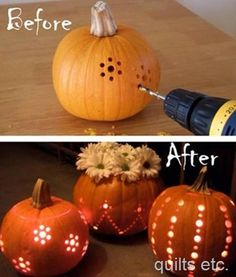 Cool and Spooky Pumpkin Carving Ideas for Shaping . - 111 Cool and Spooky Pumpkin Carving ideas for molding Cool and Spooky Pumpkin Carving Ideas for Shaping . - 111 Cool and Spooky Pumpkin Carving ideas for molding - Soirée Halloween, Adornos Halloween, Holidays Halloween, Halloween Pumpkins, Fall Pumpkins, Pretty Halloween, Halloween Costumes, Couple Halloween, Pregnant Halloween