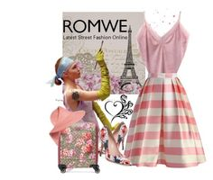"""""""ROMWE"""" by aida-ida ❤ liked on Polyvore featuring Chicwish, Kate Spade, Gucci and Eugenia Kim"""