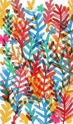 Ecoline textile series on Behance