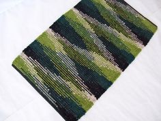 Humble Shadows Sock Looper Rag Rug Kit // by GrannysRecycledRags