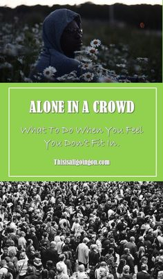 Belonging isn't about trying to fit in - click to learn powerful techniques to find belonging. #relationships #personalgrowth What You Can Do, Make You Feel, Like You, How To Find Out, How Are You Feeling, Alone In A Crowd, Learning To Let Go, Positive Outlook, Marriage Relationship