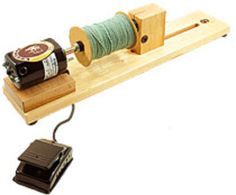 Leclerc Double-Ended Electric Bobbin Winder, Weaving Equipment - Halcyon Yarn, Quality and Value for Fiber Artists Parachute Cord Crafts, Yarn Winder, Weaving Tools, Spinning Wool, How To Make Rope, Bobbin Lace, Wool Yarn, Fiber, Sock Knitting