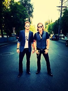 Brian Kelley & Tyler Hubbard of Florida Georgia Line