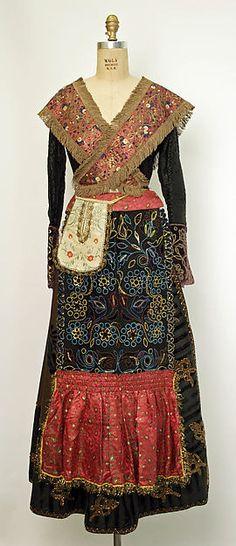 Spain, Jewish woman's ensemble, late 19th c