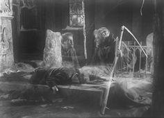 La Carreta Fantasma (Körkarlen - Victor Sjöström, 1921)