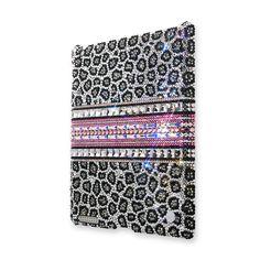Leopard Cubic Crystal iPad 2 New iPad Cases  #iPad2 #NewiPad  http://www.playbling.com/en/crystal-ipad-2-case/leopard-cubic-crystal-ipad-2-case-2.html