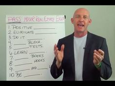 Preparing to Pass Your Real Estate License Exam the First Time - Kevin Ward - http://www.sportfoy.com/preparing-to-pass-your-real-estate-license-exam-the-first-time-kevin-ward/